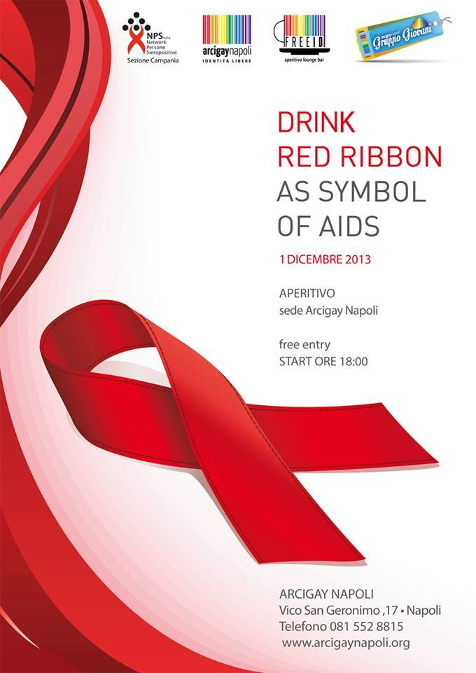 Drink red Ribbon