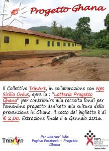 Locandina progetto Ghana